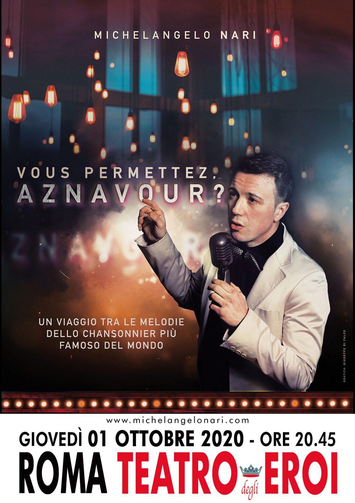 Vous permettez, Aznavour