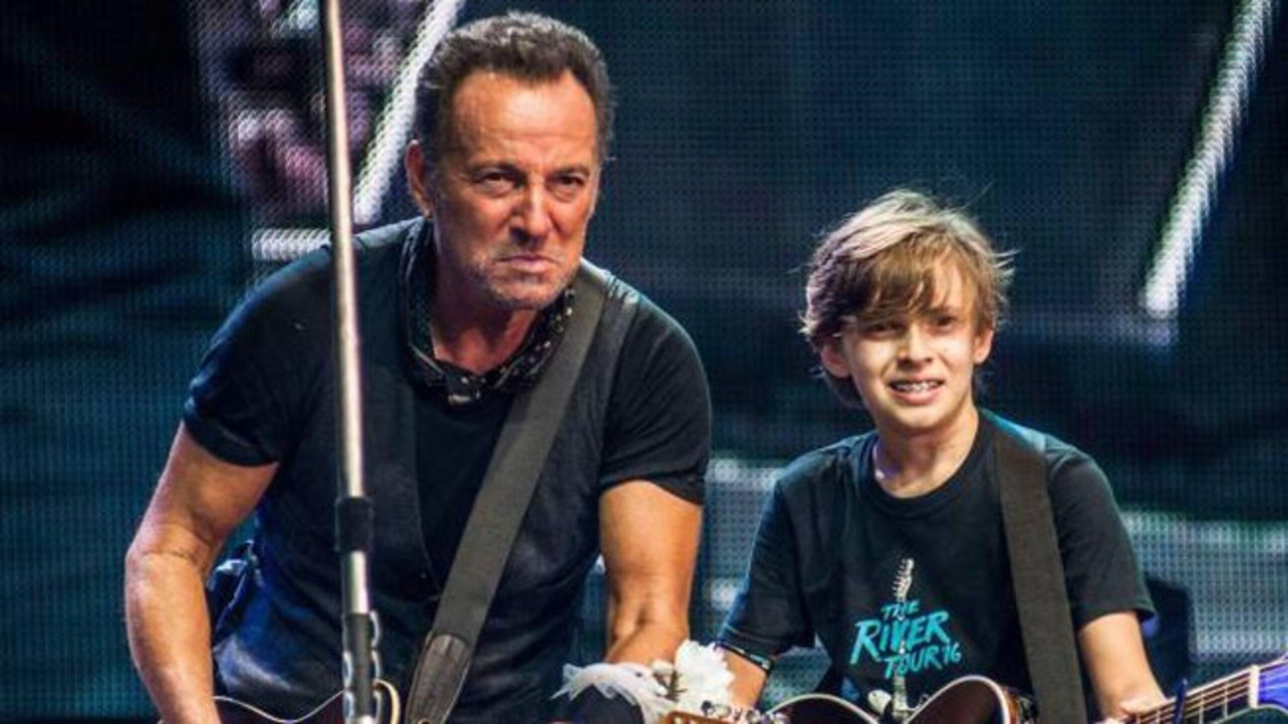 Leo Meconi e Bruce Springsteen